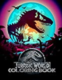 Jurassic World Coloring Books: Ultimate Color Wonder Jurassic World Coloring Book Pages & Markers, Mess Free Coloring, Wonderful Gift for Kids And Adults
