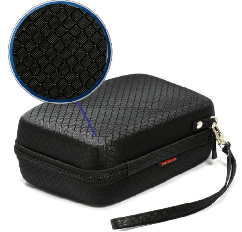 navitech black hard carry case cover for the tomtom go. Black Bedroom Furniture Sets. Home Design Ideas