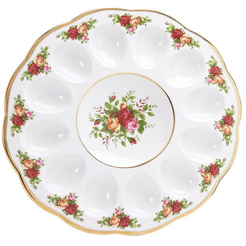 Royal Albert Old Country Roses Deviled Egg Dish