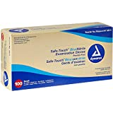 SafeTouch Nitrile Exam Gloves, Non Latex, Powder Free, Small, 100/Box
