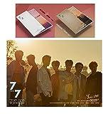GOT7 [MAGIC hour A+GOLDEN hour B Ver. SET] 7 For 7 Album 2CD + 2 Official Posters + 2Covers + 2Photo books + 2Photo cards + 2Lyrics books