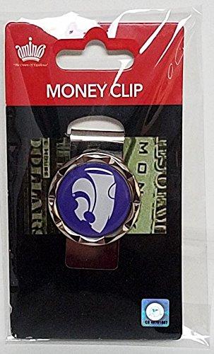 aminco NCAA Kansas State Wildcats Diamond Cut Logo Money Clip, Team Color
