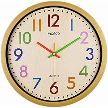 Amazon.com: Unity Henley Children's Learn the Time Wall Clock, 10 ...