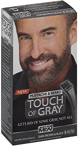 JUST FOR MEN Touch of Gray Mustache & Beard Hair