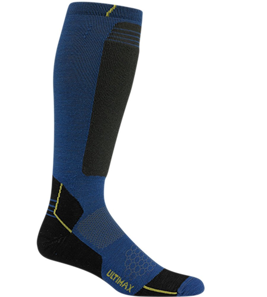 Wigwam Men's Snow Sirocco Knee High Performance ski Sock, F2092