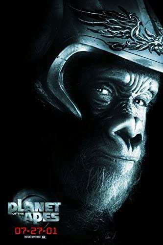 Amazon Com Planet Of The Apes 2001 Original Movie Promo Poster 13 X 19 Mark Wahlberg Tim Roth Helena Bonham Carter Michael Clark Duncan Everything Else