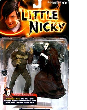 Little Nicky Gatekeeper with Gary the Monster Action Figure