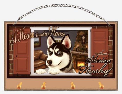 Siberian Husky Leash Holder - 2