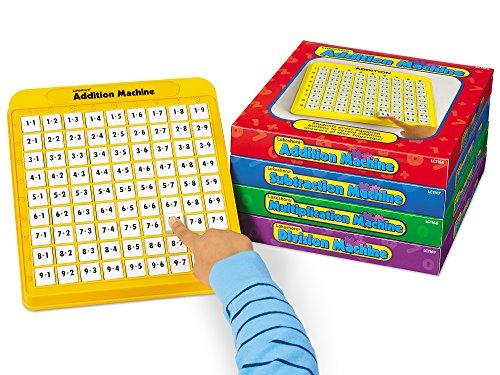 Lakeshore SelfTeaching Math Machines  Set of 4