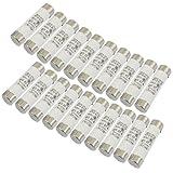 eDealMax 20 Pz 500V 50A Cilindro Cap ceramica fusibile ad azione veloce Links 14x51mm