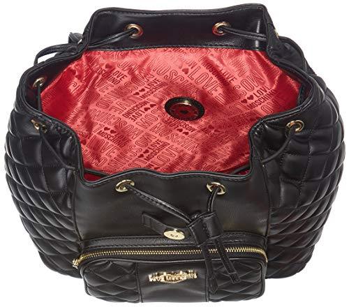 Love Borsa dos Sacs Moschino portés Nero Pu Noir Quilted Nappa 44xwT5rZq