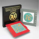 Ishihara Compatible Pseudoisochromatic Plate (PIPIC) Color Vision Test 24 Plate Edition by Dr. Waggoner