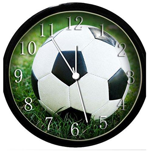 BENRUS Glow In the Dark Wall Clock - Soccer Ball
