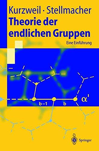 Theorie Der Endlichen Gruppen: Eine Einführung (Springer-Lehrbuch) (German Edition)
