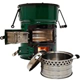 Big Foot Two-Door Cookstove and Super Pot Combo For Sale