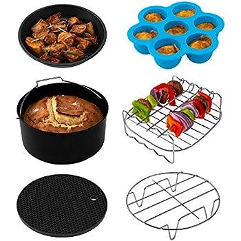 Amazon.com: COSORI Air Fryer Accessories(C137-6AC), Set of