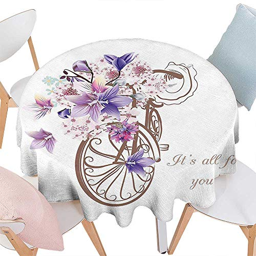 Cheery-Home Polyester Tablecloth Suitable All Occasions,(50