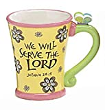 We Will Serve the Lord Inspirational Coffee Mug