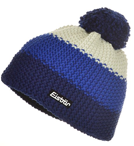 Eisbär - Gorro - para niño Azul Col.228 Marine/blitzblau/weiß Talla única