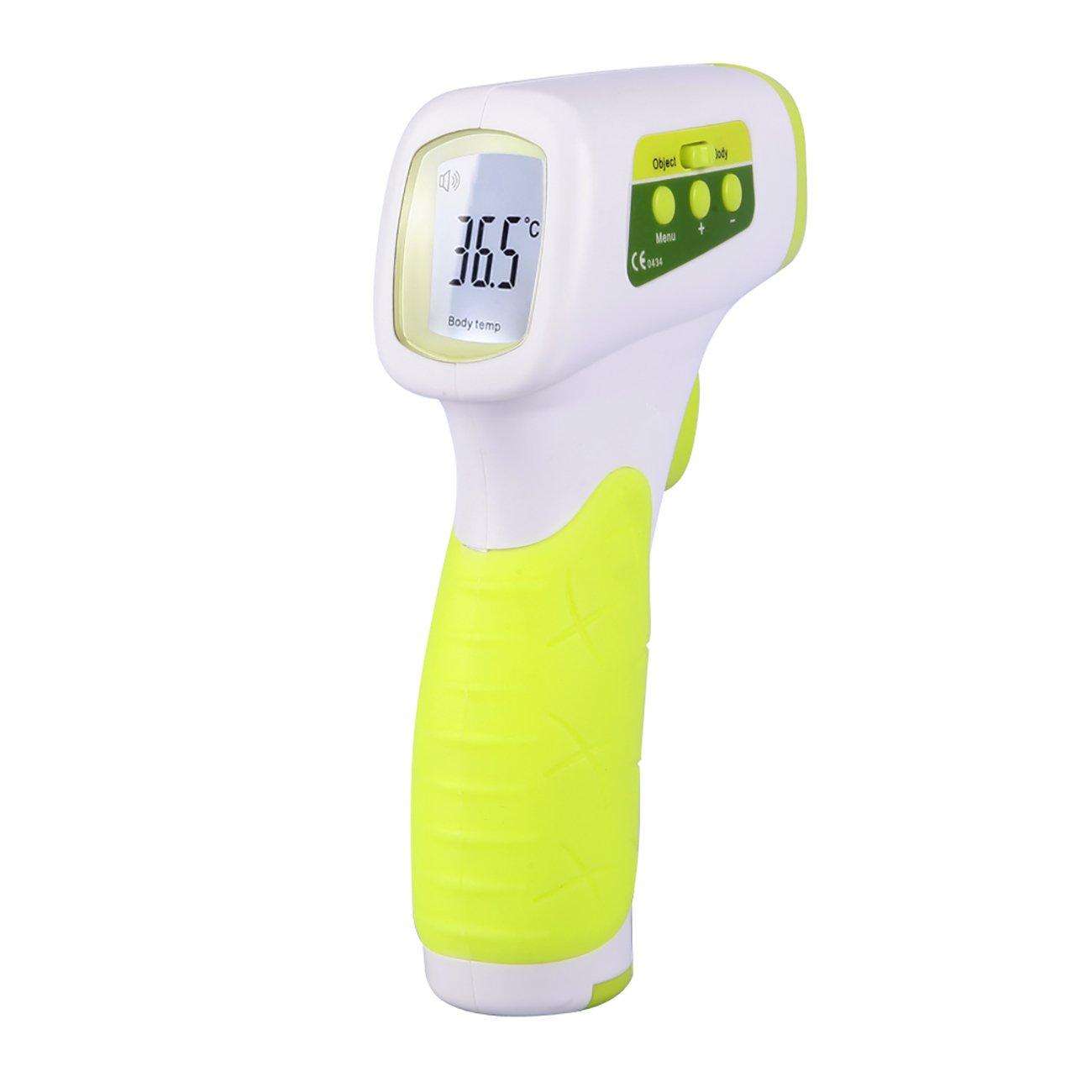 Tochange Digital-LCD-Stirnthermometer-Nicht Kontakt Infrarot-Erwachsenes Baby-elektronisches Thermometer für Stirnraum-Flaschentemperatur