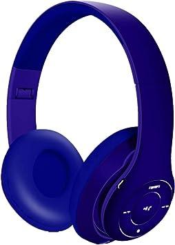 Auriculares Inalámbricos, Bluetooth de Diadema sobre Oreja Auriculares, Cascos Plegable con Micrófono Manos Libres y Hi-Fi Estéreo para TV, PC,Tableta: Amazon.es: Electrónica