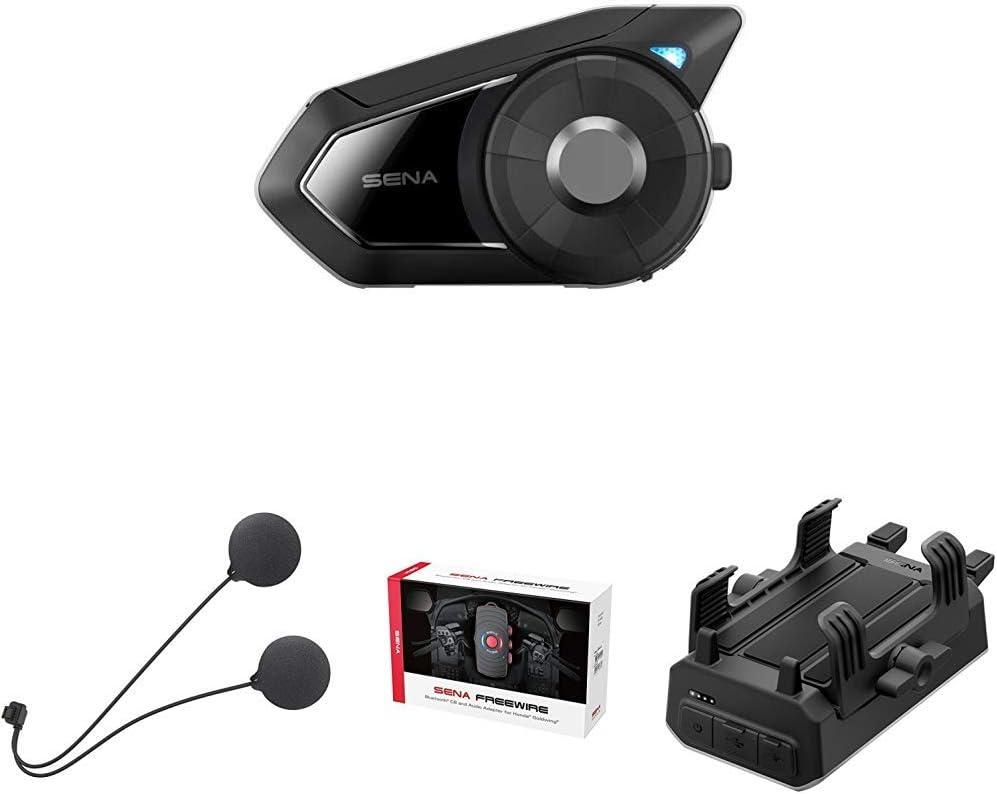 Sena 20S-EVO-02 Sistema di Comunicazione Bluetooth con Altoparlanti Sottili Nero