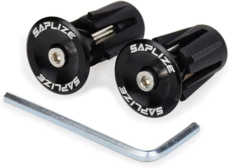 Double Lock-on Handlebar Grips Anti-Slip Handle Bar Protector Cover Black