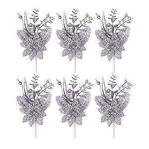 "Valery Madelyn Christmas Wreath Pre-Lit 24"" Chirstmas Wreath, Christmas Floral Picks"