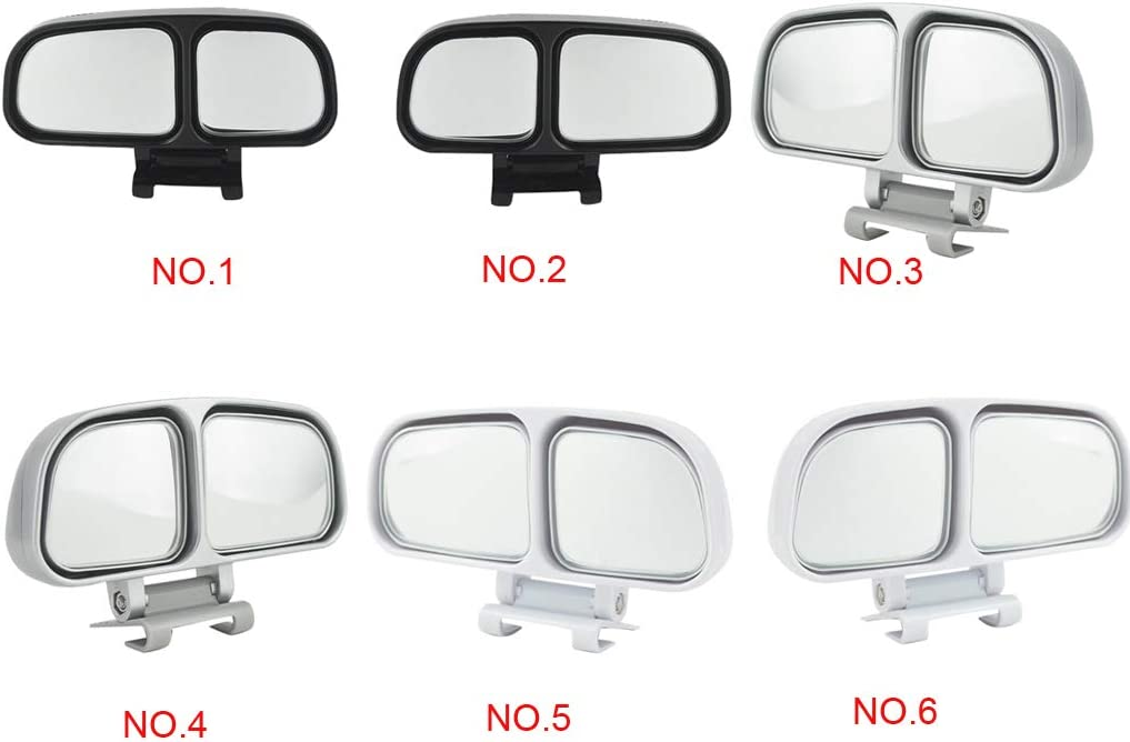 Auto retrovisore Blind Spot Zone Specchio grandangolare Specchio cieco Specchio della Zona a Doppio Vetro retromarcia Laterale Specchietto Accessori Auto