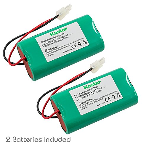 (Kastar MM565021 Battery (2 Pack), Ni-MH 4.8V 3000mAh, Replacement for Mosquito Magnet HHD10006 MM565021 Liberty Plus, Executive Trap, Commander Trap MMBATTERY MM3100 MM3300 MM3400 565-021 H-SC3000X4)