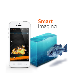 Deeper - Smart Fishfinder works in conjunction with Android and iOS smartphones.