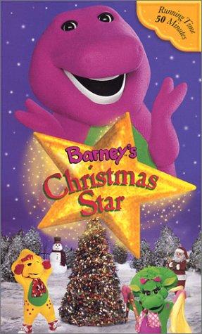 Amazon.com: Barney's Christmas Star [VHS]: Barney: Movies & TV
