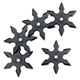 Halloween Ninja Rubber Throwing Star - Roppo Shuriken - 5pc Set