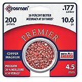 Sporting Goods : Crosman Magnum Premier Domed Pellets, 200 Count