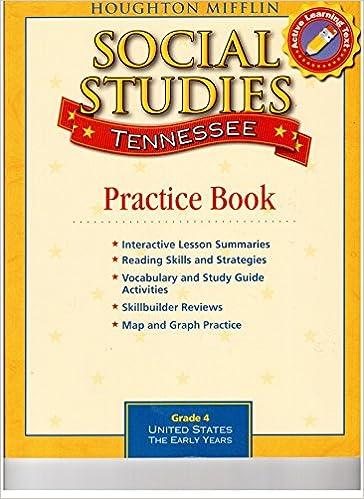 Amazon.com: Houghton Mifflin Social Studies Tennessee: Practice ...