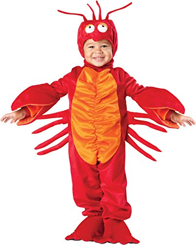 UHC Lil Lobster Toddler Under Sea Creature Theme Child Halloween Costume, XL (4T) (Sea Creature Costumes)
