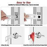 Portable Door Lock Home Security Door Locker Travel