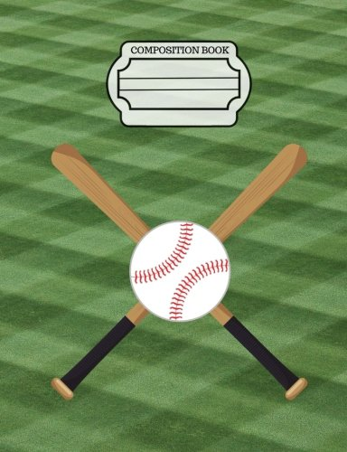 Sport Score Bag - Baseball - Sports Fans Journal, Composition Notebook, Wide Ruled Paper: 101 sheets / 202 pages (7.44