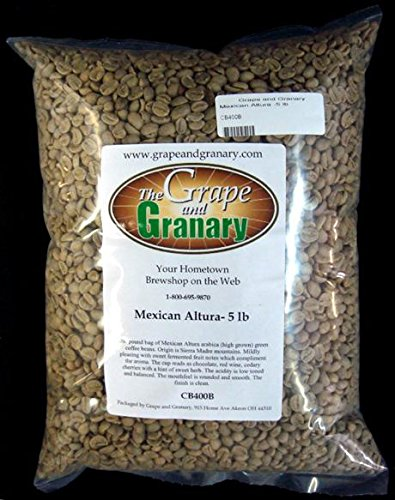 Mexican Altura unroasted Coffee Beans (5LB)