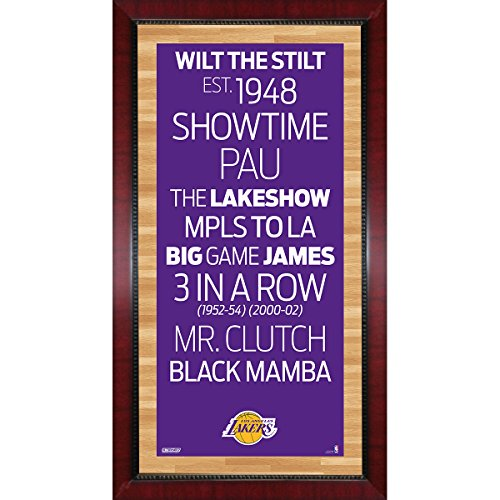 Los Angeles Lakers Subway Sign Wall Art 16 Inch X 32 Inch Photo ...