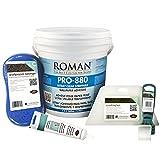 Roman 209922 1 gal PRO 880 Wallpaper Adhesive Kit, Small Room