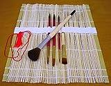 art alternatives watercolor - Bamboo Roll Up Watercolor Brush Set