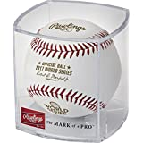 Rawlings Authentic 2017 MLB World Series On-Field Baseball with Display Case