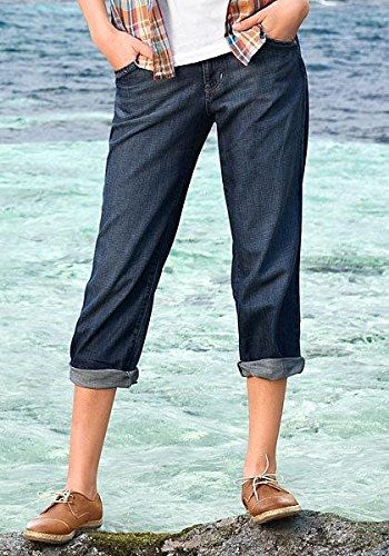 Capri Mujer Bauer Vaqueros De Pantalones Eddie Océano w6EExqU5B
