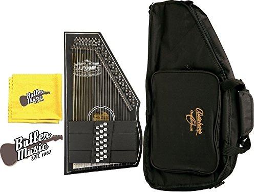Oscar Schmidt OS73C 1930s Reissue 21 Chord Classic Autoharp w/Gig Bag And More by Oscar Schmidt