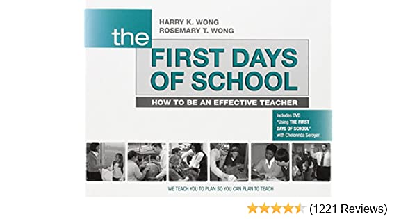 The first days of school how to be an effective teacher book dvd the first days of school how to be an effective teacher book dvd 0858160414232 economics books amazon fandeluxe Images