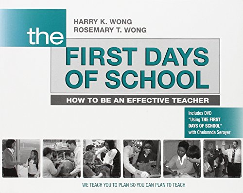 The First Days of School: How to Be an Effective Teacher (Book & DVD) cover