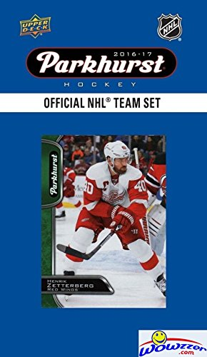 Upper Deck Detroit Red Wings - Detroit Red Wings 2016/2017 Upper Deck Parkhurst NHL Hockey EXCLUSIVE Limited Edition Factory Sealed 10 Card Team Set including Henrik Zetterberg, Mike Green & all the Top Stars! Wowzzer!