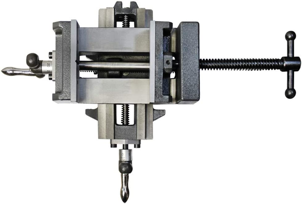 DBM IMPORTS 3 X-Y Compound Cross Over Slide Sliding Drill Press Vise Milling Drilling 2 Way