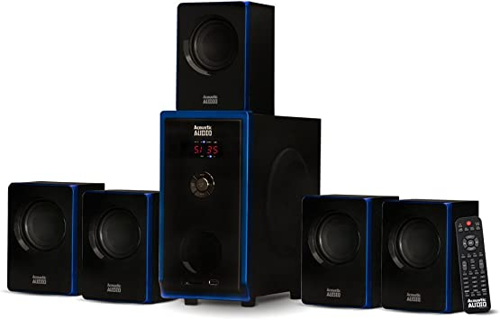 Acoustic Audio AA5102 Bluetooth Powered 5 1 S